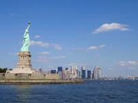 Statue of Liberty with Manhattan
