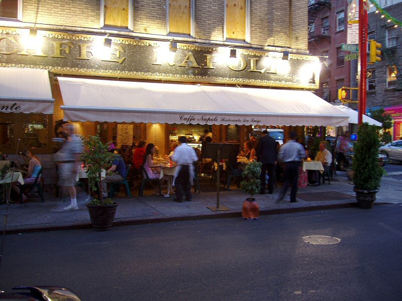 Caffe Napoli in Little Italy