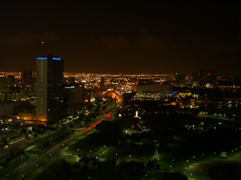 Miami from the 28th floor