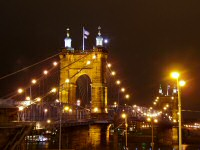 Roebling Suspension Bridge, Cincinnati