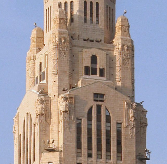 Leveque Tower detail