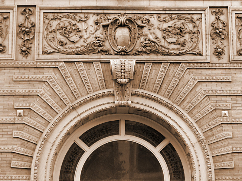 Cincinnati building detail