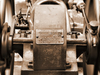 Early gasoline engine