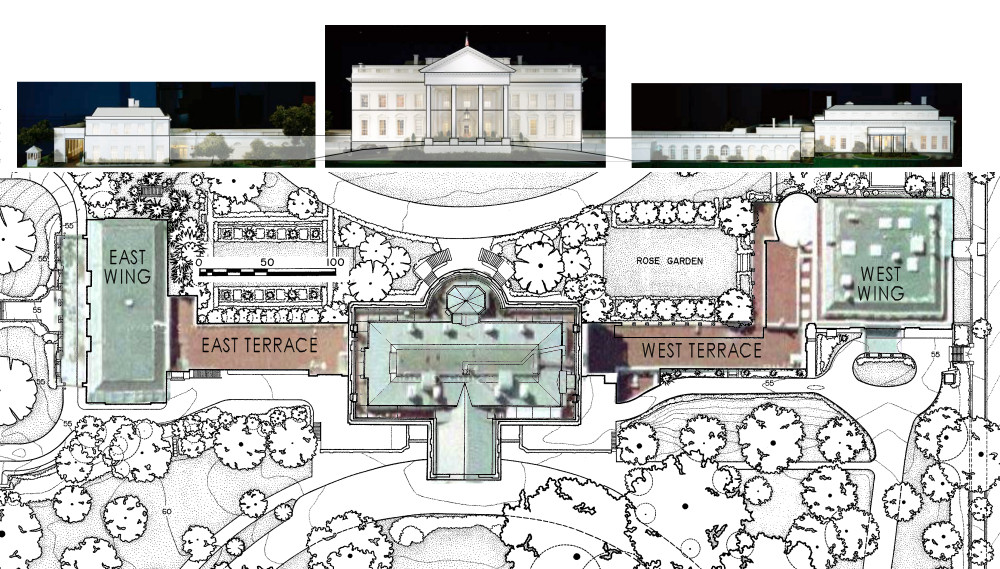 White House Architectural Plans, Photographs Of The White House .