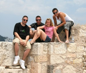 At the Acropolis