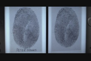 Diamonds Are Forever fingerprints